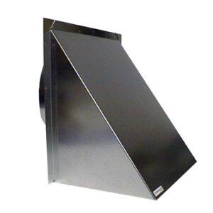 Wall Cap – 10 inch Galvanized metal