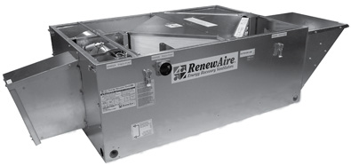 EV450RT – Renewaire Energy Recovery Ventilator